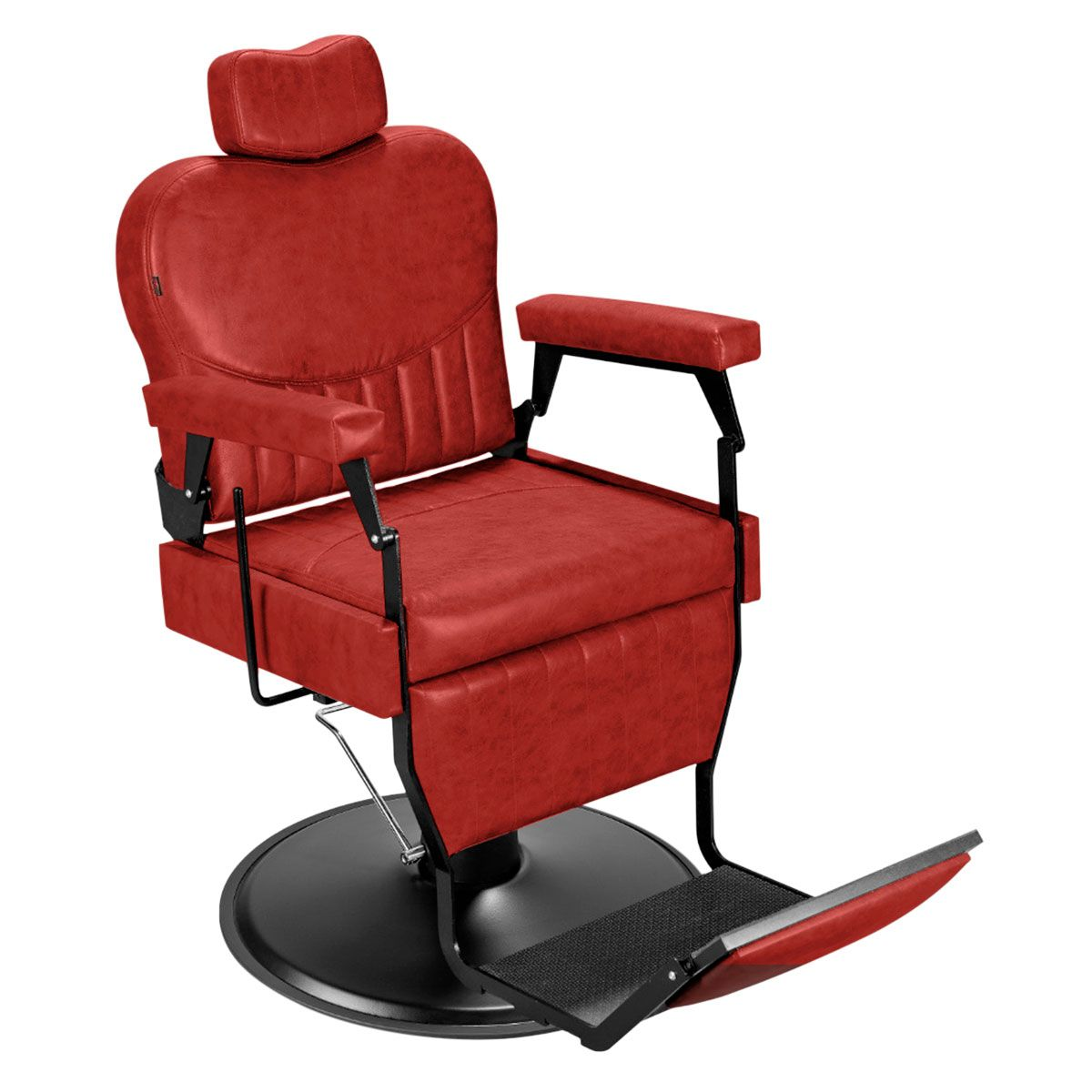 Cadeira de Barbeiro Barber Classic - Pé Preto