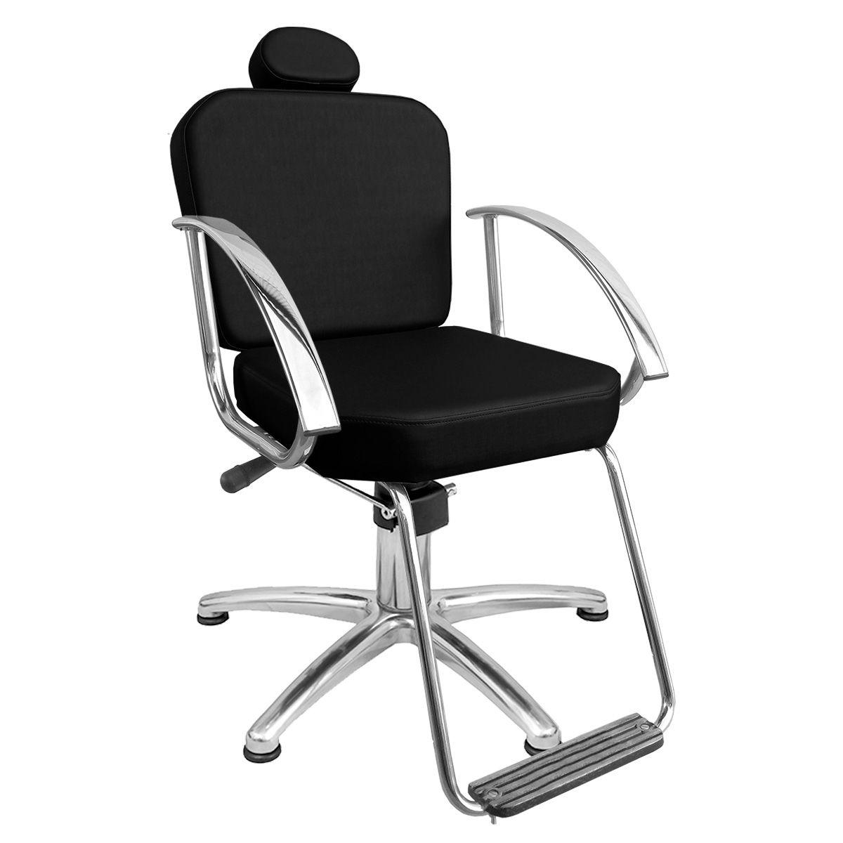 Cadeira de Cabeleireiro Dallas Encosto Fixo - Pentapé