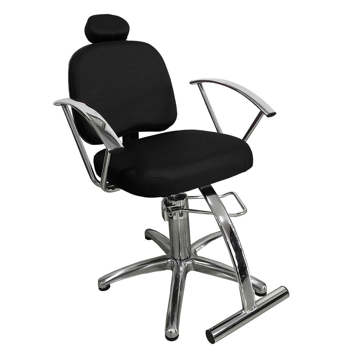 Cadeira de Cabeleireiro Íris Encosto Fixo - Pentapé