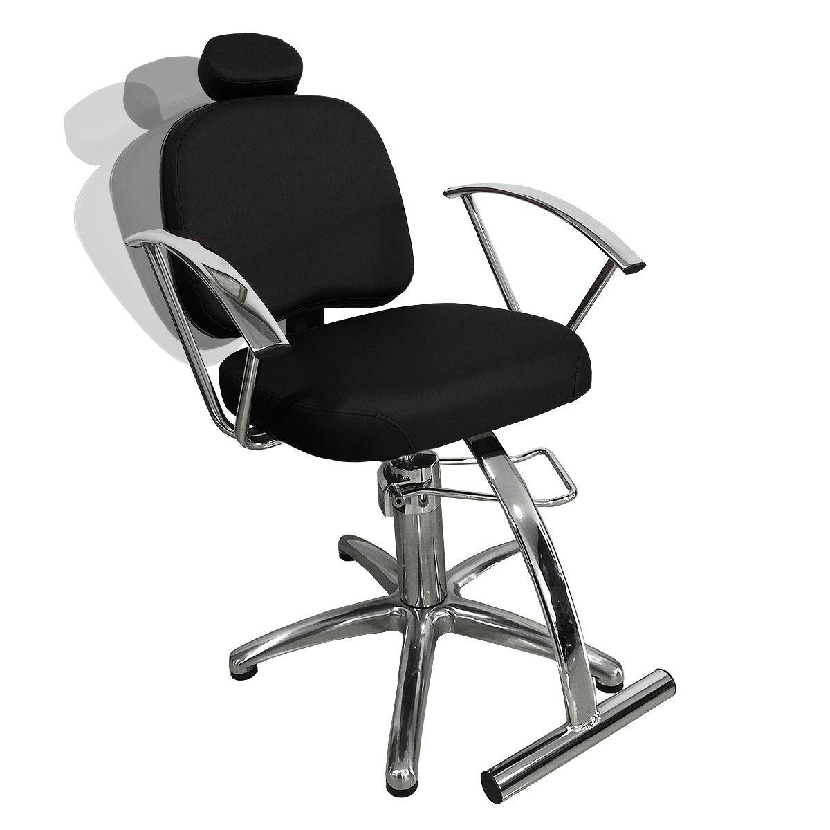 Cadeira de Cabeleireiro Íris Encosto Reclinável - Pentapé