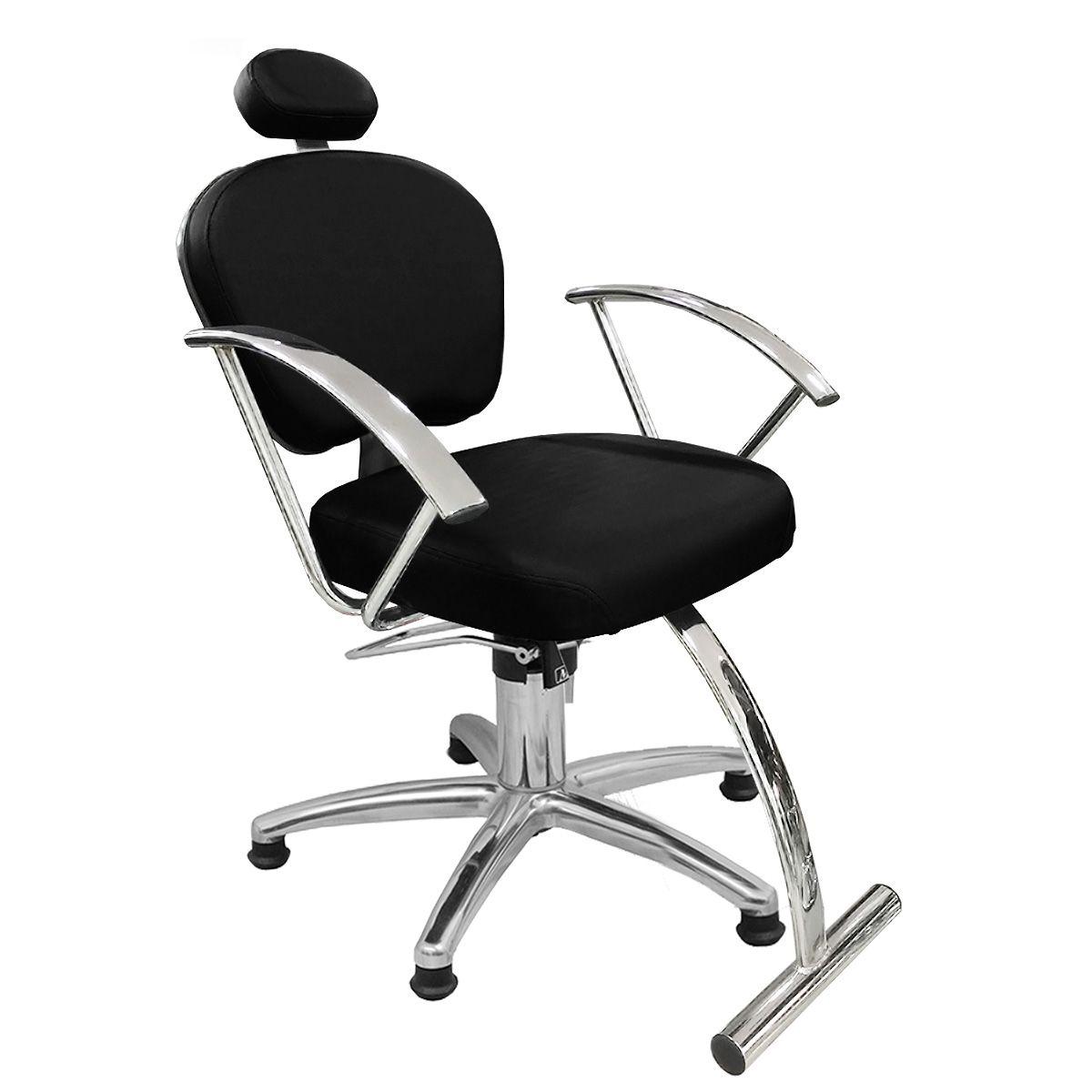 Cadeira de Cabeleireiro Jasmim Encosto - Fixo Pentapé