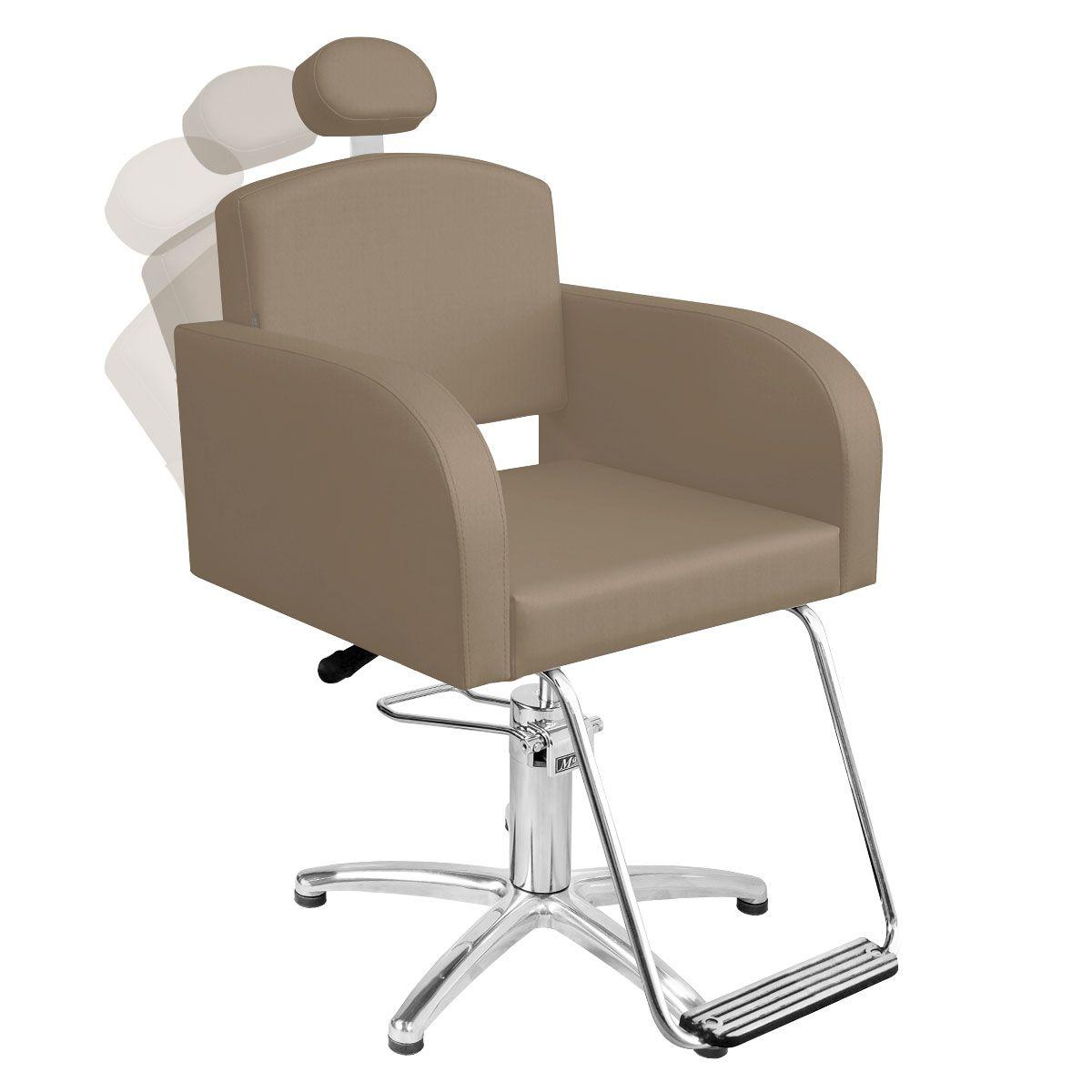 Cadeira de Cabeleireiro Sofia Encosto Reclinável - Pentapé