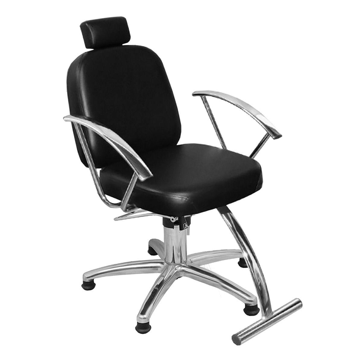 Cadeira de Cabeleireiro Turim Encosto Fixo - Pentapé