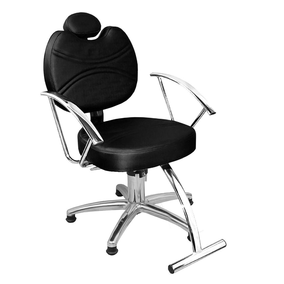 Cadeira de Cabeleireiro Vitória Encosto Fixo - Pentapé