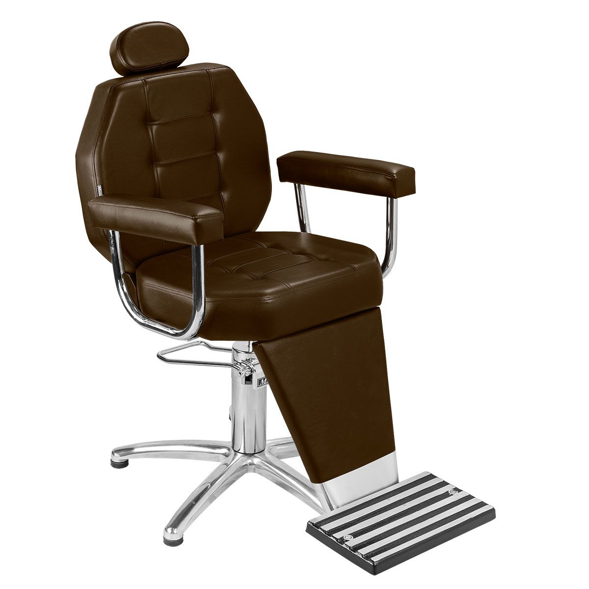 Cadeira de Maquiagem Linea - Braço Estofado - Pentapé
