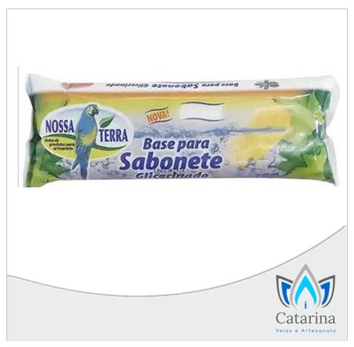 BASE GLICERINADA TRANSPARENTE NOSSA TERRA