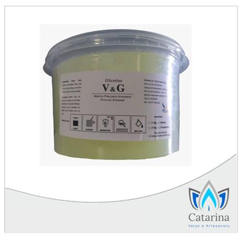 BASE GLICERINADA TRANSPARENTE V&G
