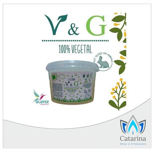 BASE GLICERINADA 100%  VEGETAL TRANSPARENTE V&G