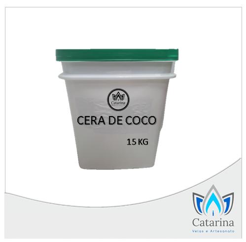 CERA VEGETAL DE COCO (POTE DE 15 KG)