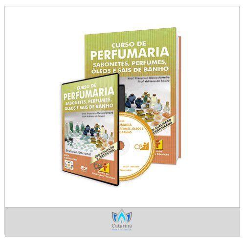CURSO ONLINE PERFUMARIA - SABONETES, PERFUMES, ÓLEOS E SAIS DE BANHO