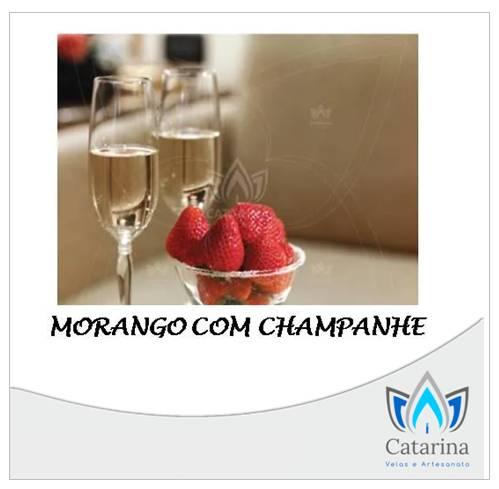 ESSÊNCIA MORANGO COM CHAMPANHE 1 LITRO
