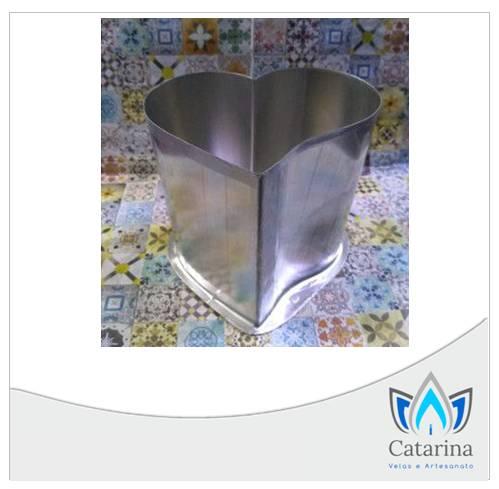 FORMA CORAÇÃO COM CURVA 10 x 10