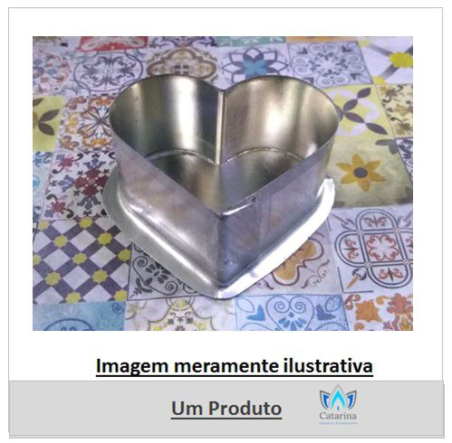 FORMA FLUTUANTE CORAÇÃO 5 x 2,5