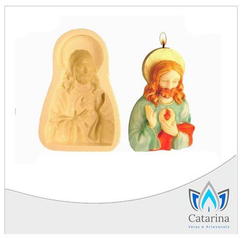 MOLDE  DE SILICONE JESUS CRISTO