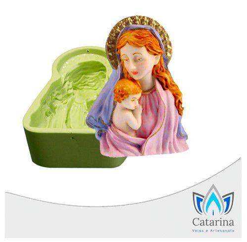 MOLDE DE SILICONE MARIA E JESUS
