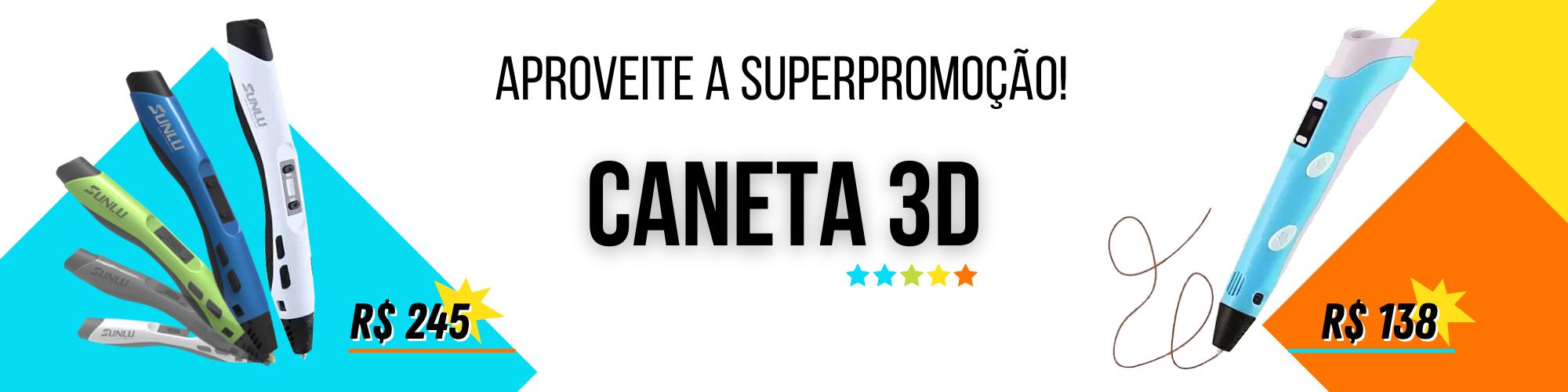 Canetas 3D