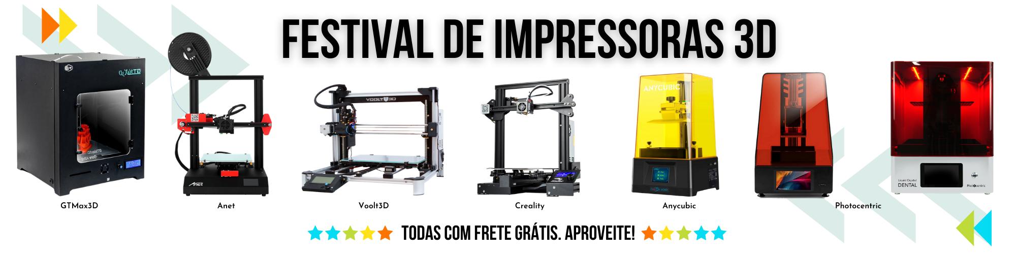 Impressoras 3D com Frete Grátis