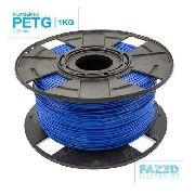 Filamento Petg - Azul - FAZ3D - 1.75mm - 1kg