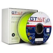 Filamento ABS- Amarelo Fluorescente - Premium MG94 - GTMax 3D - 1.75mm - 1KG