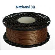 Filamento ABS - Cobre - Premium MG94 - National 3D - 1.75mm - 1kg