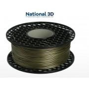 Filamento ABS - Dourado - Premium MG94 - National 3D - 1.75mm - 1kg