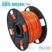 Filamento ABS - Laranja - Premium MG94 - FAZ3D - 1.75mm - 1kg