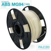 Filamento ABS - Natural - Premium MG94 - FAZ3D - 1.75mm - 1kg
