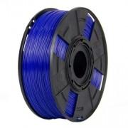Filamento ABS Premium+ - Azul Caneta - 3D Fila - 1.75mm - 500g