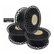 Filamento ABS - Preto Piano - Premium MG94 - National 3D - 1.75mm - 1kg