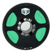 Filamento ABS Pro - LG - Verde - Loja 3D - 1.75mm - 1kg