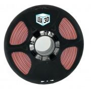 Filamento ABS Pro - LG - Marsala - Loja 3D - 1.75mm - 1kg