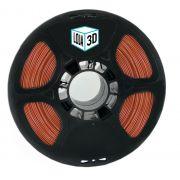 Filamento Flex TPU Premium - Laranja (Telha) - Loja 3D - 1.75mm - 1kg