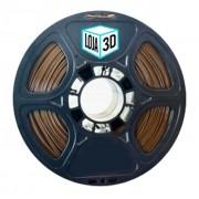 Filamento Flex TPU Premium - Marrom - Furtacor - Loja 3D - 1.75mm - 1kg