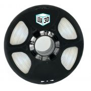 Filamento Flex TPU Premium - Transparente - Natural - Loja 3D - 1.75mm - 1kg