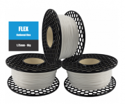 Filamento Flexível TPU 95A - Natural - National 3D - 1.75mm - 1kg