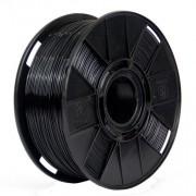 Filamento Flexível TPU - Preto - 3D Fila - 1.75mm - 500g