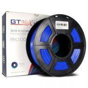 Filamento PETG - Azul - PETG  - GTMax 3D - 1.75 mm - 1 KG