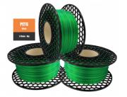 Filamento PETG - Verde Translúcido Glass - PETG  - National 3D - 1.75 mm - 1 KG