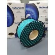 Filamento PLA Max - Azul Tifanny - National 3D - 1.75mm - 500g
