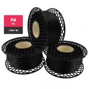 Filamento PLA Max Preto - National 3D - 1.75mm - 1KG