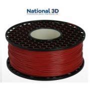 Filamento PLA Max - Vermelho - National 3D - 1.75mm - 1KG