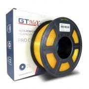 Filamento PLA Plus - Amarelo Translúcido - GTMax 3D - 1.75mm - 1KG