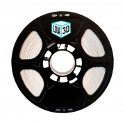 Filamento PLA Pro de Alta Resistência - Branco - Loja 3D - 1.75mm - 1kg