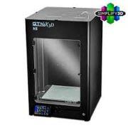 Impressora 3D Profissional - CORE H5 - GTMax 3D + Software Simplify 3D + 1 KG de ABS