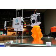 Impressora 3D Stella 2 + Spray + Suporte + Espátula - Completa