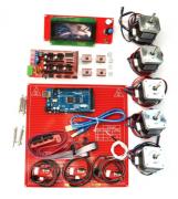 Kit Completo Eletrônica Impressora 3d - Reprap- 1.4 com LCD e SD