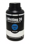 Resina Melting 3D - Azul Translúcida - Standard - LCD/SLA/DLP - 380/420nm - 500 ml