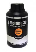 Resina Melting 3D - Laranja Translúcida - Standard - LCD/SLA/DLP - 380/420nm - 500 ml