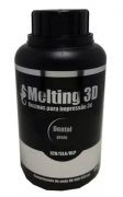 Resina Melting 3D - Preto - Dental - 405nm - 500 ml