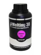 Resina Melting 3D - Rosa Translúcido - Standard - LCD/SLA/DLP - 380/420nm - 500 ml